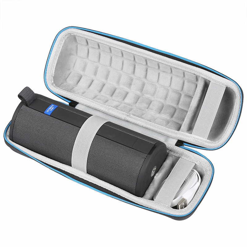 LuckyNV EVA Hard Waterproof Travel Carry Case Bag For Logitech Ultimate Ears UE BOOM 3 Wireless Speaker Box