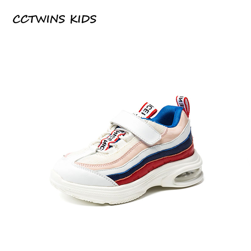 CCTWINS KIDS 2018 Autumn Children Mesh Casual Trainer Baby Girl Fashion Sport Sneaker Boy Brand Breathable Shoe FS22415