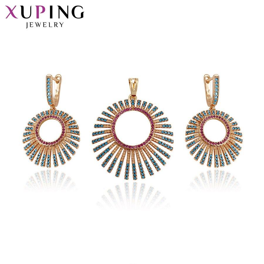 Xuping Jewelry Sets Charm...