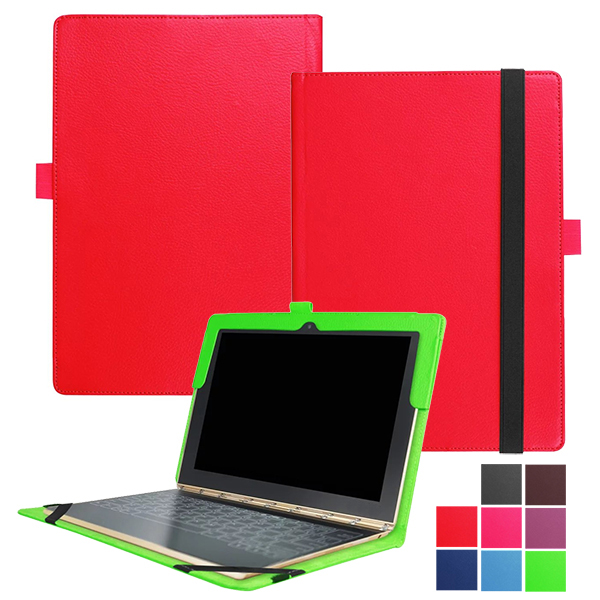 Pu Book Folio Leather Case With Keyboard Case Cover For Lenovo Yoga Book With Windows Yb1 X91f X90l X91f X90f 10 1 Tablet Pc Case With Keyboard With Keyboardcover With Keyboard Aliexpress