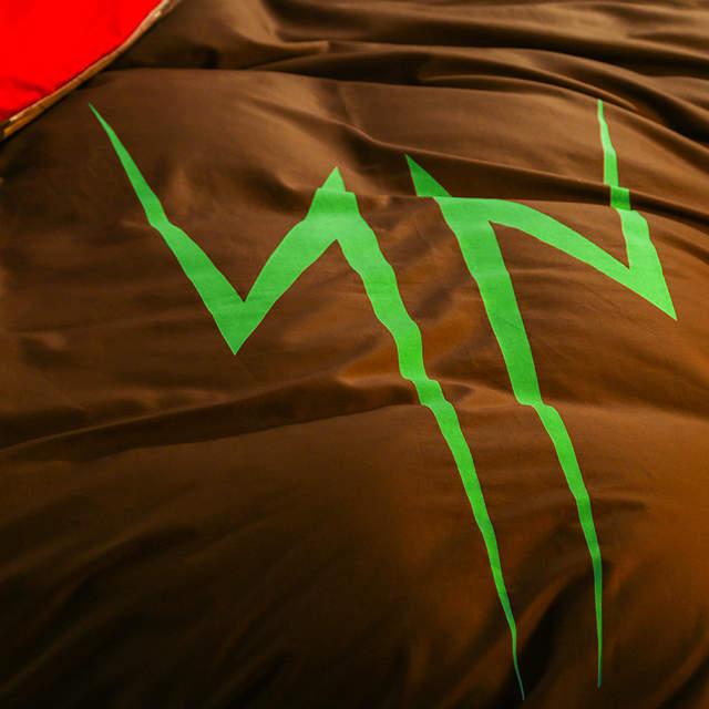 placeholder god of thunder super heroes noctilucence bedding sets thor movie donna quilt cover set parure couverture