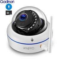 Gadinan Wifi IP Camera Outdoor 1080P 2.0MP Wireless Security Audio Camera Night Vision Motion Detection & Email photo FTP iCSee