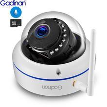 Gadinan Wifi IP 카메라 야외 1080P 2.0MP 무선 보안 오디오 카메라 나이트 비전 모션 감지 및 이메일 사진 FTP iCSee
