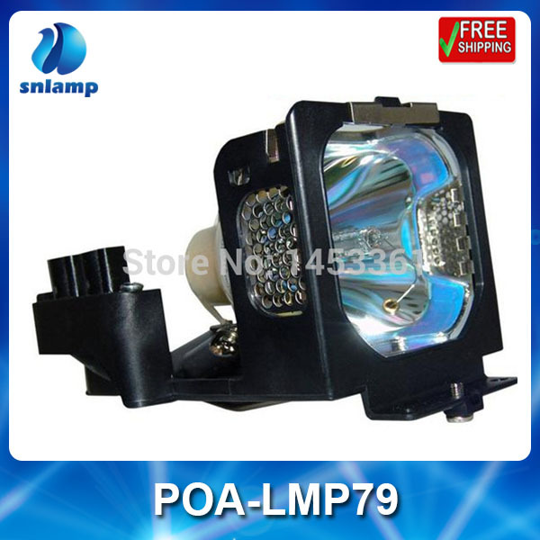 ФОТО Replacement projector lamp bulb POA-LMP79/610-315-5647 for PLC-XU41