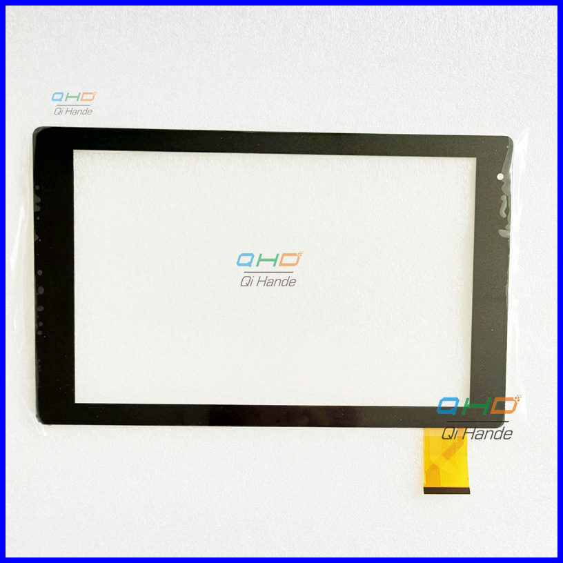 With LOGO New Touch Screen Digitizer For 10.1 Inch HXD-1076 HXD-1076-V4.0 Archos Tablet Touch Panel Glass Sensor Replacement white 9 7 inch for archos chefpad tablet pc touch screen panel digitizer glass sensor replacement