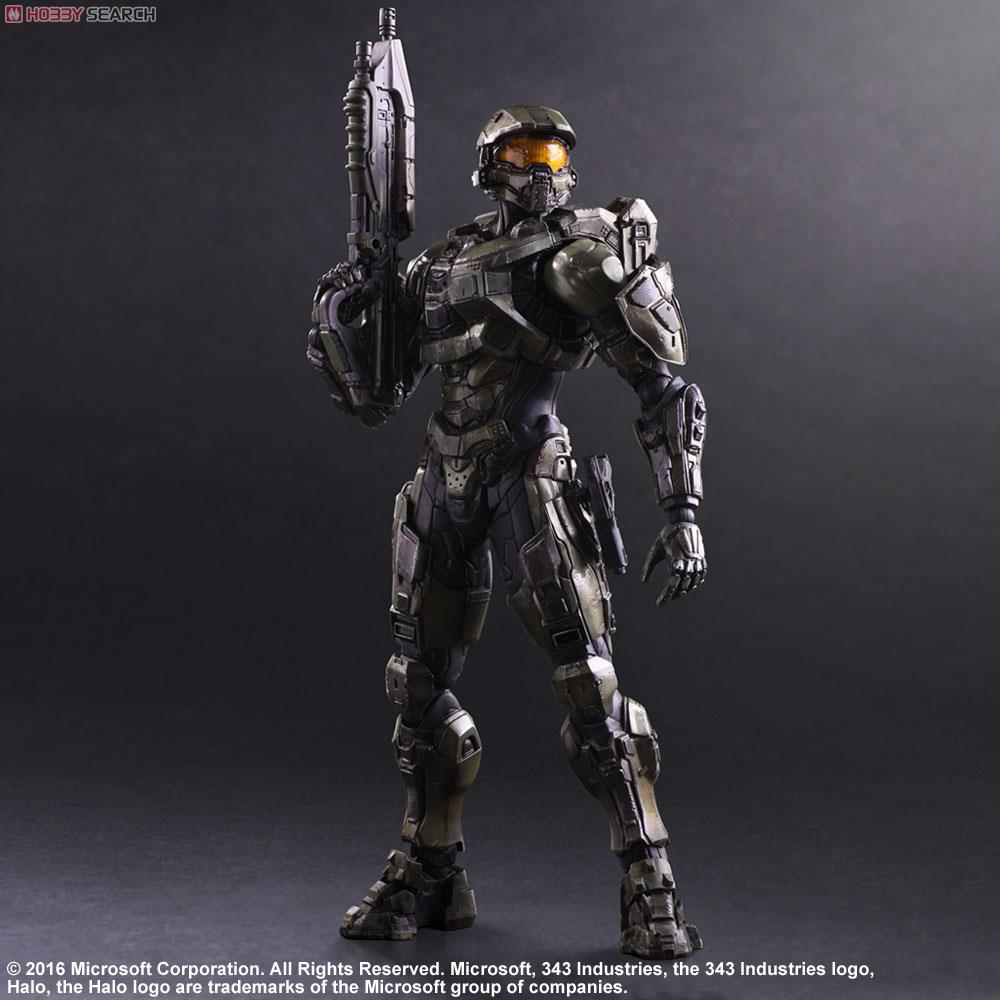 HALO 5 GUARDIANS PLAY ARTS Reform master chief Action Figure electricity market reform