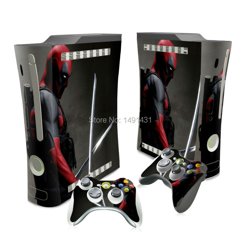 OSTSTICKER New Play Game Style Vinyl Skin Decal Sticker for Xbox 360 Fat Fast Delivery