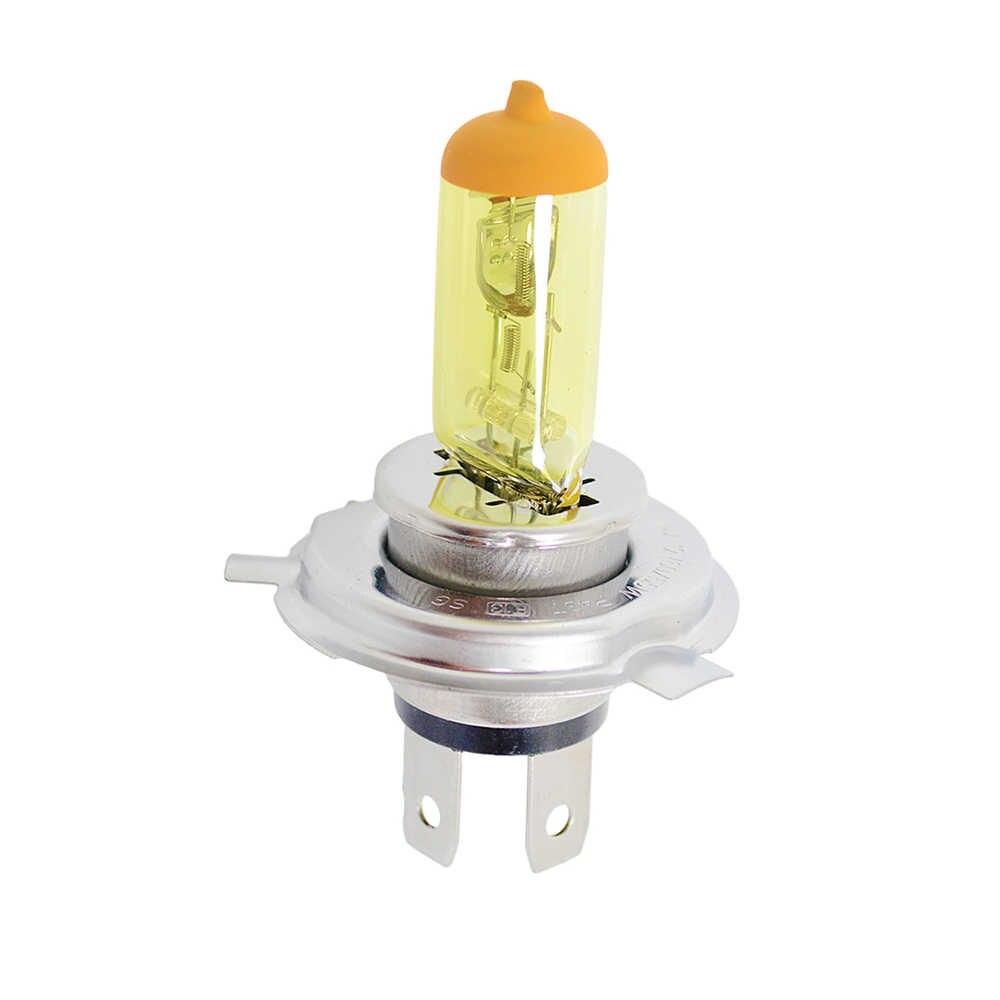 Flytop 1 шт. желтый H1 H3 H4 H7 H8 H11 9005 9006 галогенная лампа для автомобилей 12В 55 Вт 3000 К кварцевые Стекло ксеноновые автомобильные фары для автомобильных фар