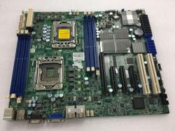 X8DTL-6 podwójna płyta robocza serwera X58 1366