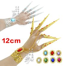 1 Pair Nail Decorations Chain India Belly Dance Bracelet Performance Accessories(China)