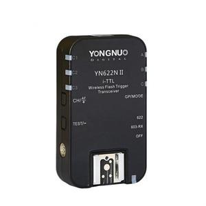 Image 2 - Yongnuo Neue Verbesserte YN 622NII YN622NII Drahtlose Ttl blitzauslöser 2 Transceiver HSS 1/8000 s Für Nikon Kameras mit aufspürennr