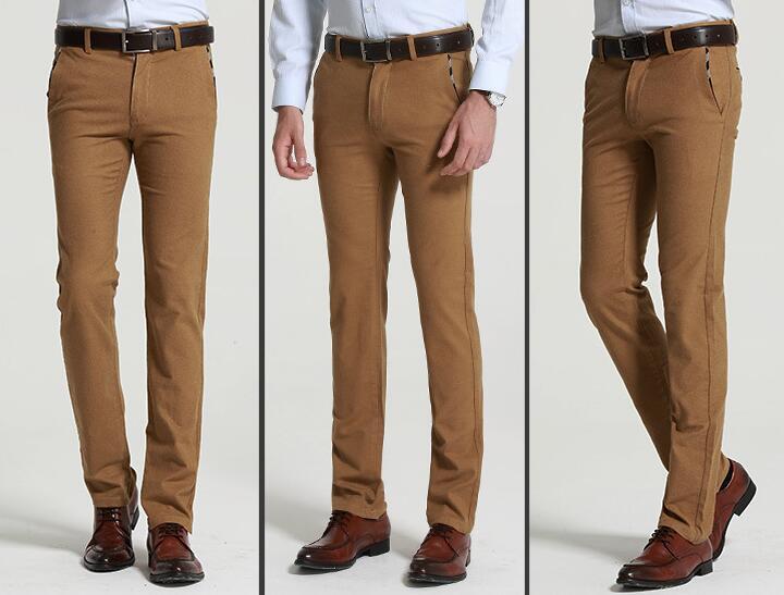 2019 Slim Fit შემთხვევითი სწორი - კაცის ტანსაცმელი - ფოტო 4
