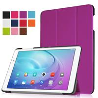 XSKEMP 360 Degrees Rotating Stand PU Leather Flip Case For Huawei MediaPad T2 10 0 Pro