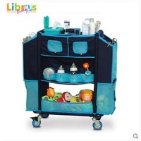 LIBRUS Newborn 0 3 Baby Storage Nurse Cart Multifunctional Baby Care Stroller SGS Was Approved