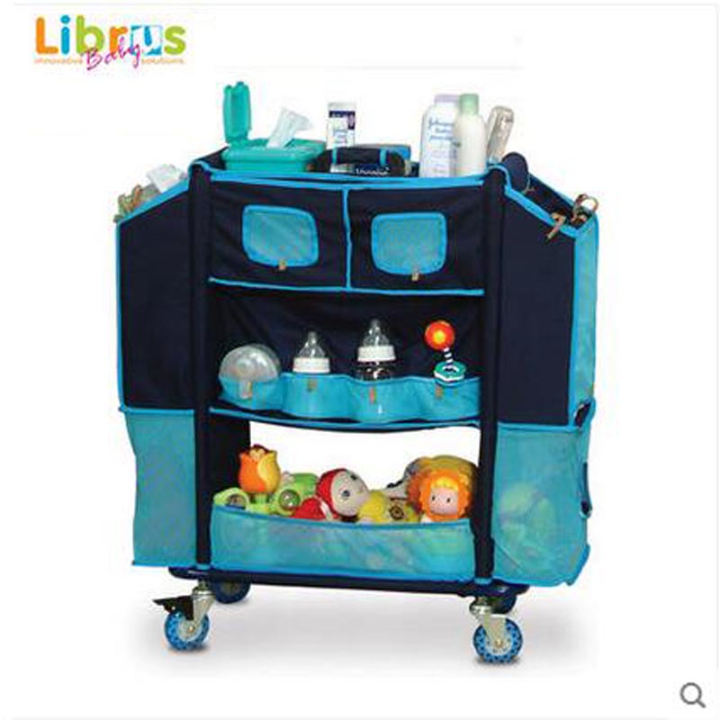LIBRUS nouveau-né 0-3 bébé stockage infirmière panier multifonctionnel bébé soin poussette SGS a été approuvé
