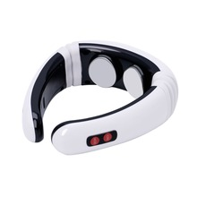 MLMERY Electric Pulse Back Neck Massager Cervical Vertebra Treatment Instrument Therapy New