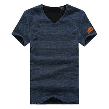 2016 summer men s fashion men s color casual short sleeved T shirt Large comfortable t