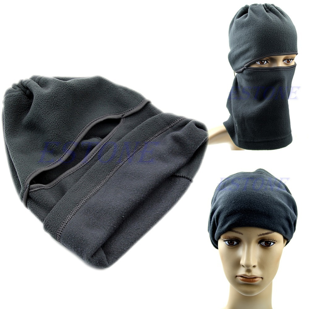Motorcycle Thermal Fleece Balaclava Neck Winter Full Face Mask Cover Hat Cap motorcycle thermal fleece balaclava neck winter ski full face mask cap cover
