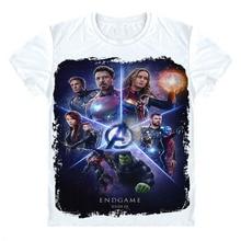 Avengers Endgame T Shirt Iron man t shirts Infinity War T Shirt Tony Stark T shirt