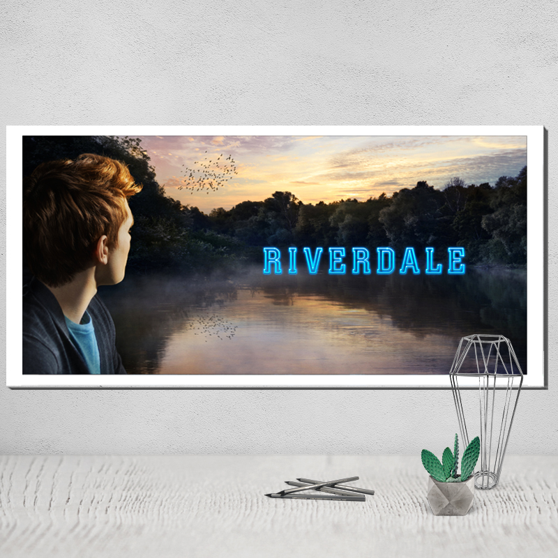 Aliexpress.com : Buy Canvas Poster Riverdale Wall Pictures for ...