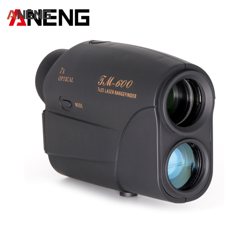 Compact 7X25 600m Laser Range Finder Golf Rangefinder Hunting Telescope Monocular Distance Meter Speed Tester 1200m hunting monocular telescope golf laser range distance meter rangefinder range finder with angle height speed measurement