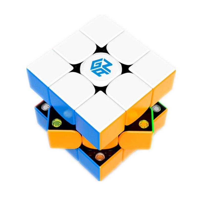 Gan 354 M puzzle magnétique magic speed cube 3x3 autocollant moins professionnel Gan354 aimants vitesse cubo magico 354 M jouets pour enfants