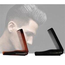 2 colors Portable Foldable Hair Comb Hairdressing Moustache