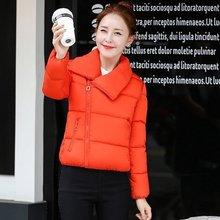 2016 новый теплая зима пуховик хлопка женская одежда короткие хлопка-ватник 20-25-30-35 лет