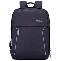 XQXA Brand Men Backpack Bag External USB Charge 15 6 17 Inch Notebook Backpacks Male Front