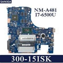 Kefu BMWQ1/BMWQ2 NM-A481 ноутбук материнская плата для Lenovo Ideapad 300-15ISK Тесты оригинальная материнская плата I7-6500U с видеокартой