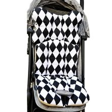 Baby Printed Stroller Pad Seat Warm Cushion Pad mattresses Pillow Cover Child Carriage Cart Thicken Pad Trolley Chair CushionS