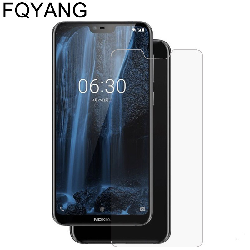FQYANG 9H Tempered Glass For <font><b>Nokia</b></font> 2.1 3.1 5.1 6.1 7.1 PLUS screen protector protective glass film For <font><b>Nokia</b></font> 8 7plus X5 X6 <font><b>1320</b></font> image