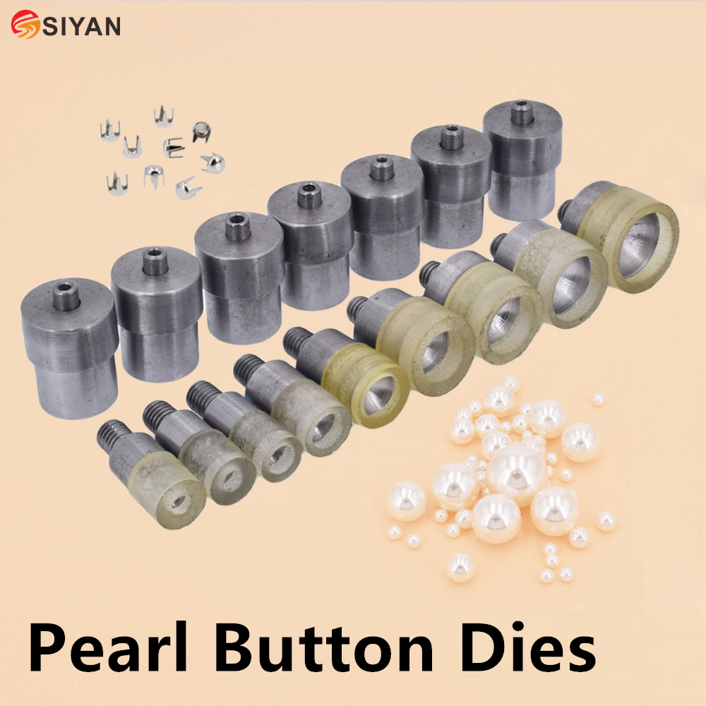 Pearl Button With Pointed Prongs At The Bottom Dies Mold Tool For Handmade Press Machine Dec Hair Phone Accessories 5mm-25mm