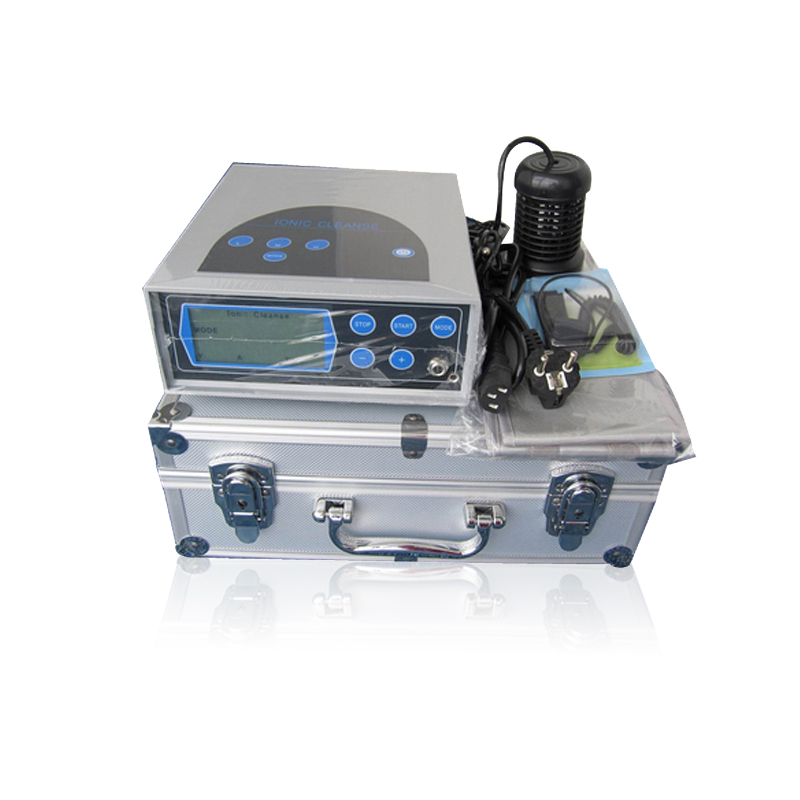 Foot Care Detox Machine Negative Ion Detox foot spa with Portable Aluminum box for Foot Detox Relaxtion Therapy ionic detox ion foot spa portable and useful