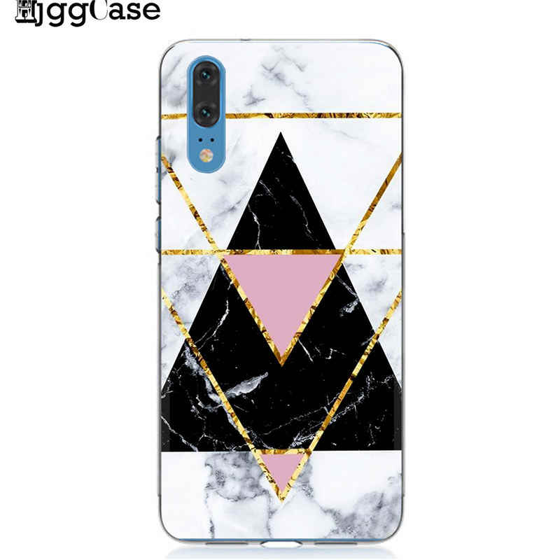 Marble pattern Phone Case For Funda Huawei P10 P20 P30 Mate 10 20 Lite Pro Case Honor 9 10 Lite 8X 8C Y9 2019 Luxury Back Cover