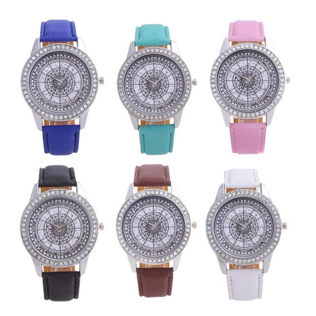 Fashion 2018 Watch Women Bracelet Watches Special Pattern Fashion Women Dress Wr