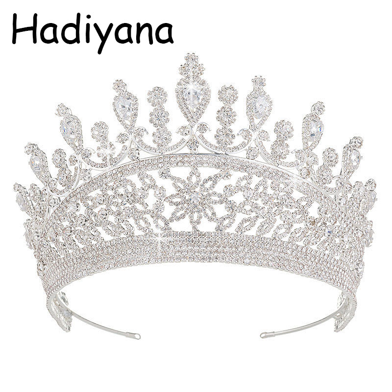 Hadiyana 2018 Lovely Girls Waterdrop Hairband CZ Princess Crown Headband Birthday Tiara Crowns For Women Hair Accessorie HG6007Hadiyana 2018 Lovely Girls Waterdrop Hairband CZ Princess Crown Headband Birthday Tiara Crowns For Women Hair Accessorie HG6007