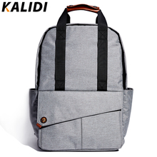 KALIDI 2016 New Fashion Men's Backpacks Bolsa Mochila for 14 Inch 15 Inch Laptop Notebook Computer Bags Teenager School Rucksack