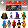 Nueva iron man ninja 9 unids toyfigures decool bloques compatibles con lego super heroes ninja figuras de juguete con la caja original