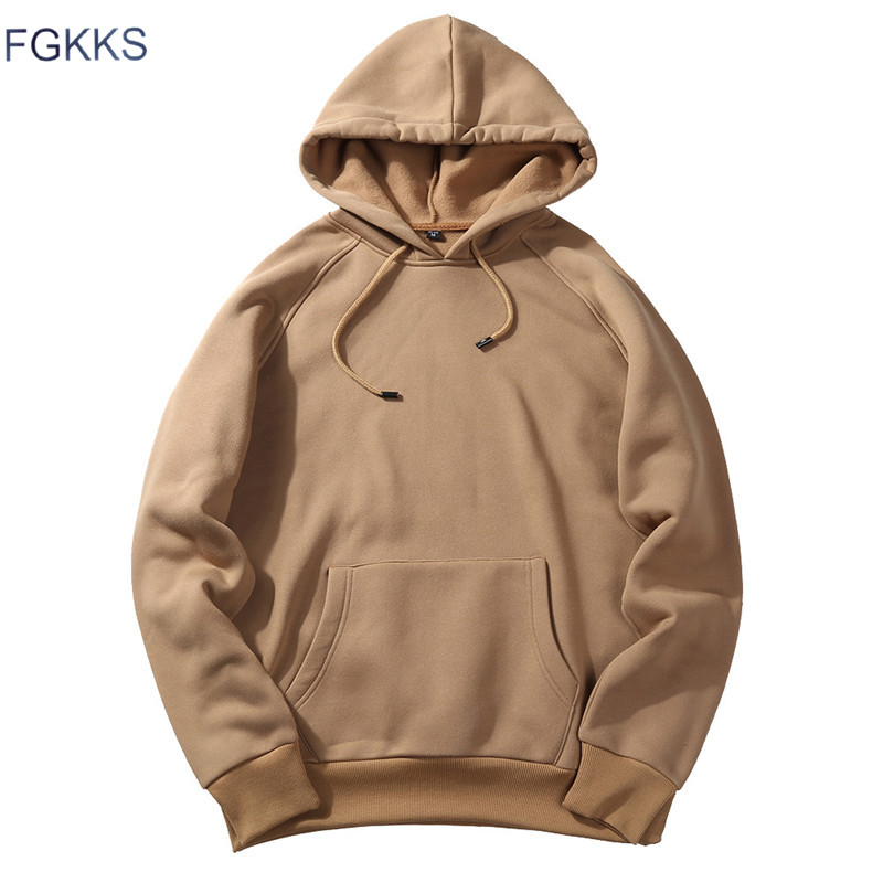 Fashion Hoodies Male Warm Fleece Coat Hooded Men Brand Hoodies Sweatshirts 1