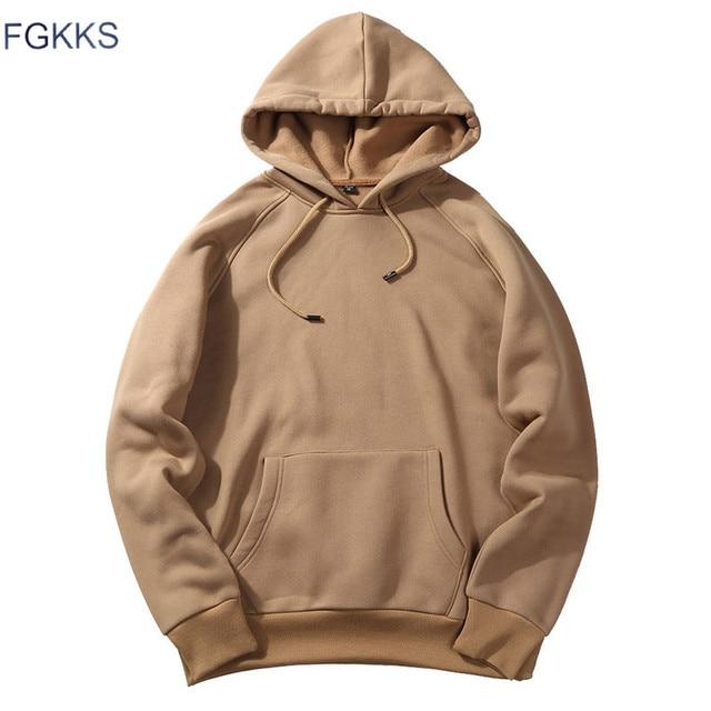 Fashion Hoodies Male Warm Fleece Coat Hooded Men Brand Hoodies Sweatshirts 13