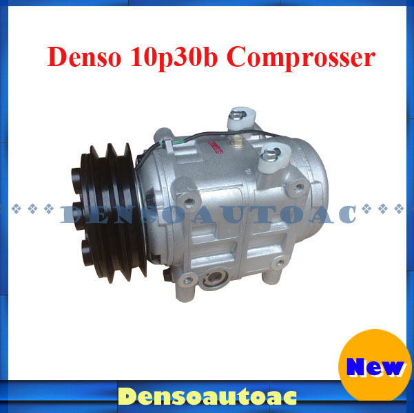 US $368 5  Denso Bus Aircon Spare Parts 10p30b Compressor with Clutch-in  Air-conditioning Installation from Automobiles & Motorcycles on