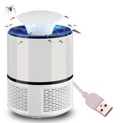 USB fotokatalizator lampa przeciw komarom zwalczanie szkodników elektryczny anty lampa owadobójcza pułapka na komary odstraszacz Bug środek odstraszający owady szkodniki