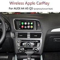 OEM автомобиля IOS мобильного телефона Экран зеркального отображения Беспроводной Carplay для Audi A4 A5 Q5 симфонический концерт радио