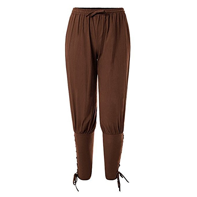 42c041bfbcb3 Hot Sale Adult Men Black Ankle Banded Pants Medieval Viking Navigator  Trousers Renaissance Gothic Pants Halloween Cosplay -in Movie & TV costumes  from ...