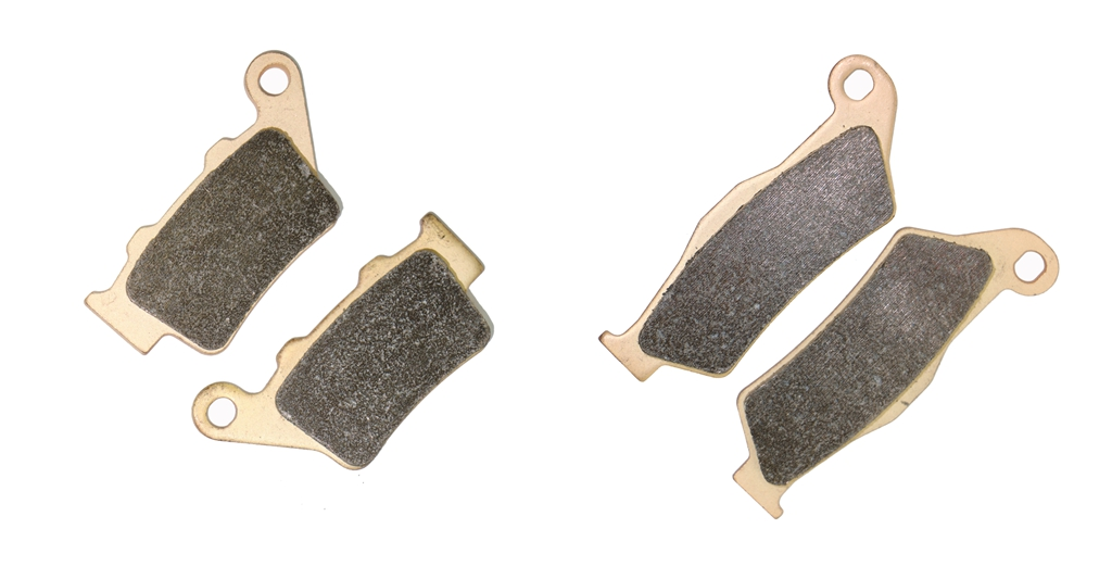 Brake Pad set fit CCM DS644 DS 644 Supermoto 2004 / FS404 FS 404 Trail 2007 2008 / FT35 400 S DRZ400 Motor 2007 2008