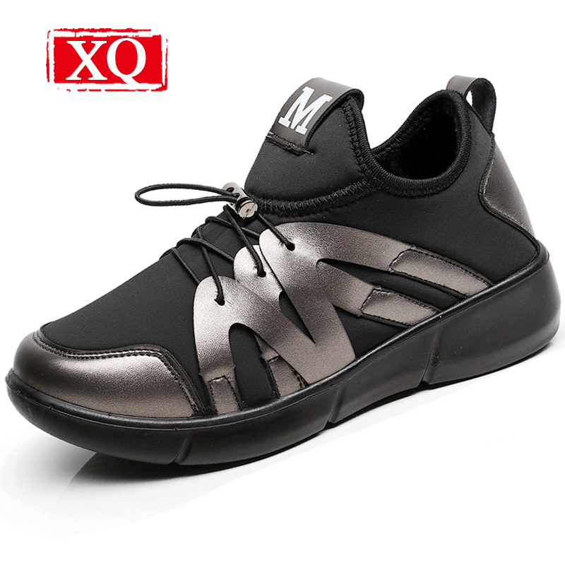 XQ Fashion Snow Boots New Winter Women Boots Non-slip Warm Shoe Ankle Boots Lightweight Flats Plush Shoes Black Short Boot W128
