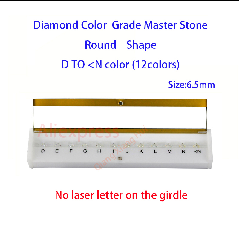 Image 3 - The specifications of  diamond weight cz master and D To M white Color round shape with laser Cubic Zirconia stone Tester Tools-in Jewelry Tools & Equipments from Jewelry & Accessories