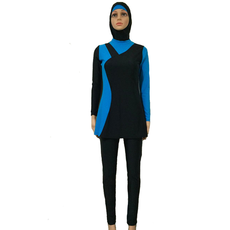 YONGSEN Gra myslimane Spa Rroba Veshje banje Islame Fytyrë e plotë - Veshje sportive dhe aksesorë sportive - Foto 3