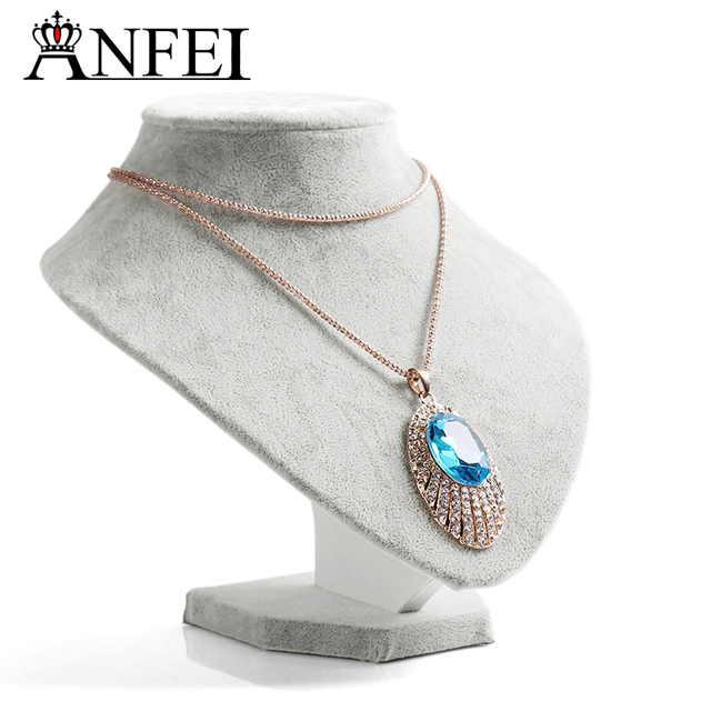 ANFEI Free Shipping Jewelry Display Necklace Display Shelf Jewelry
